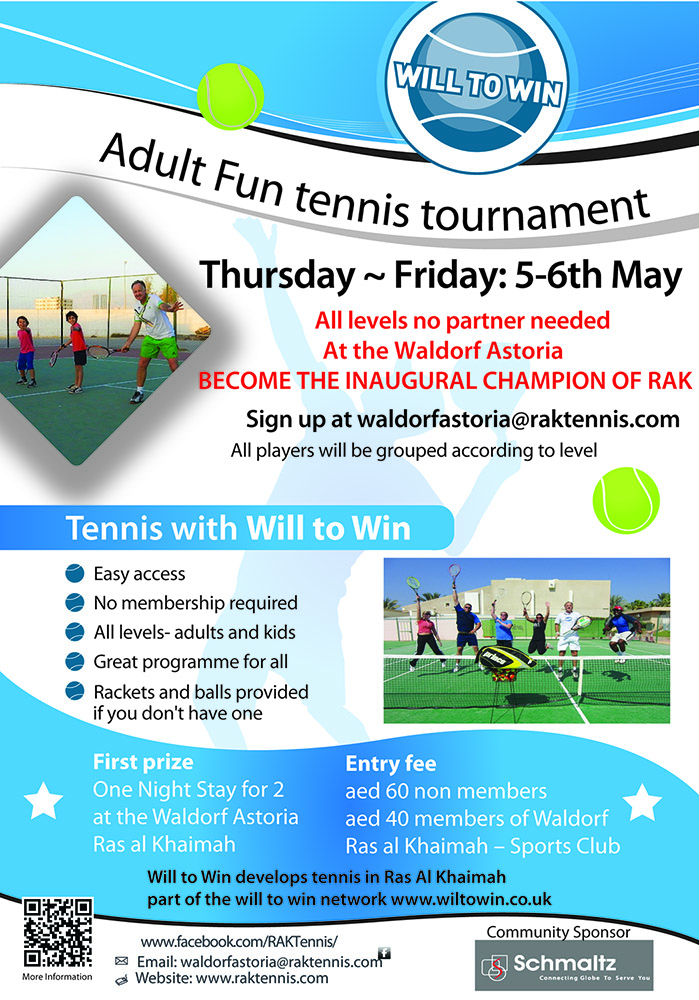 Adult Tournament  5-6th may