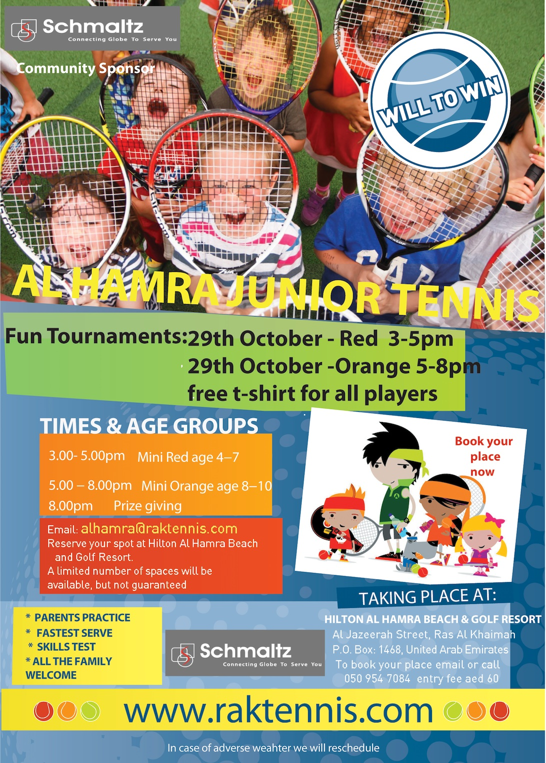 Al Hamra flyer 291016 JUNIOR TOURNAMENT v2 copy